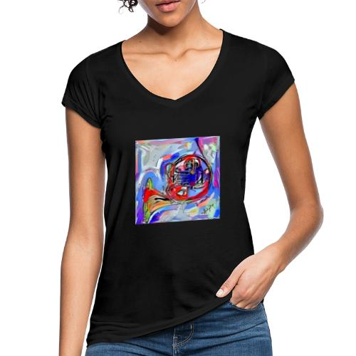 cornoarte1 - Vrouwen Vintage T-shirt