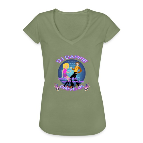 Logo2 png - Vrouwen Vintage T-shirt