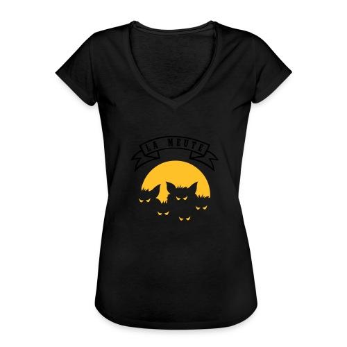 la meute - T-shirt vintage Femme