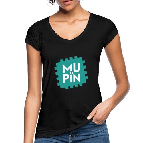 Logo Mupin quadrato - Maglietta vintage donna