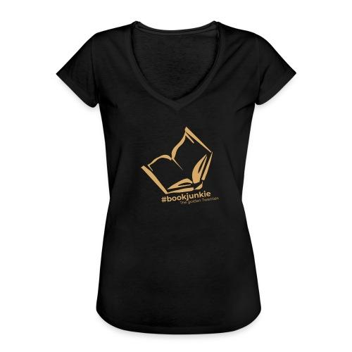 #bookjunkie - The golden Twenties Edition - Frauen Vintage T-Shirt