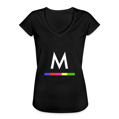 Metro - Camiseta vintage mujer