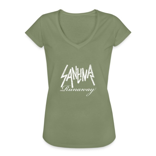 SANTINA gif - Women's Vintage T-Shirt