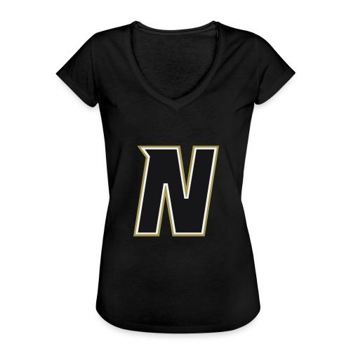 Nordic Steel Black N - Women's Vintage T-Shirt