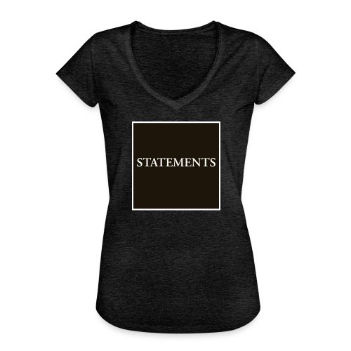 Statements EP Cover - Vintage-T-shirt dam
