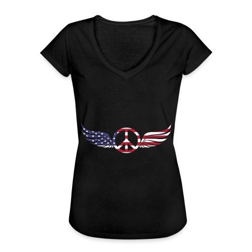 aigle américain - T-shirt vintage Femme