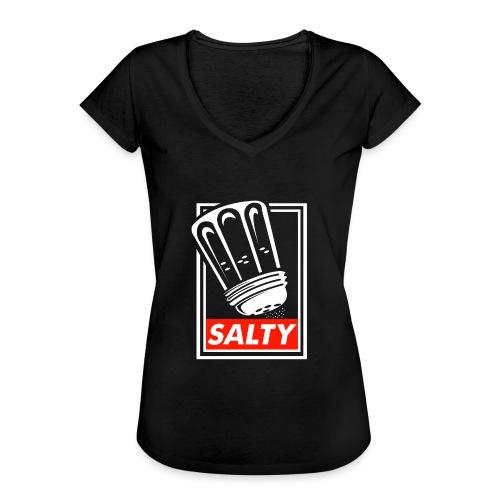 Salty white - Women's Vintage T-Shirt
