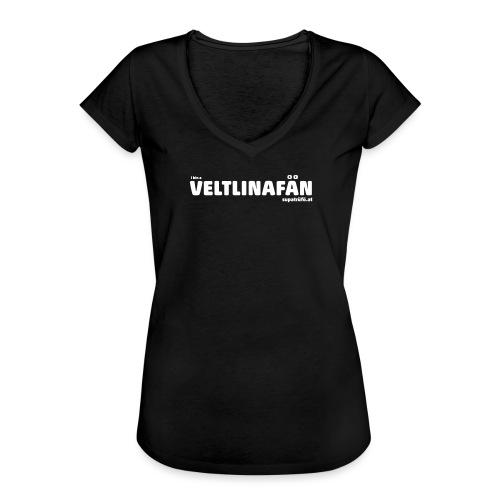 VELTLINAFAN - Frauen Vintage T-Shirt