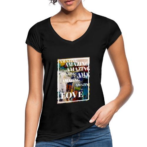 Amazing Love - Vintage-T-shirt dam