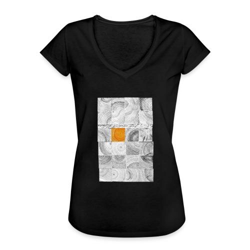 Cubes de Bois - T-shirt vintage Femme