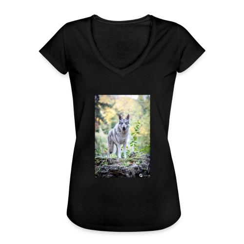 La Tanière des Chiens-Loups - T-shirt vintage Femme