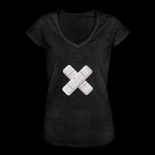 Xanax X Logo - Frauen Vintage T-Shirt