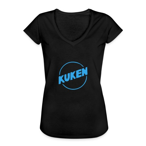 Kuken - Vintage-T-shirt dam