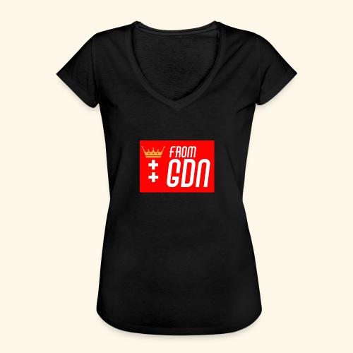 #fromGDN - Koszulka damska vintage
