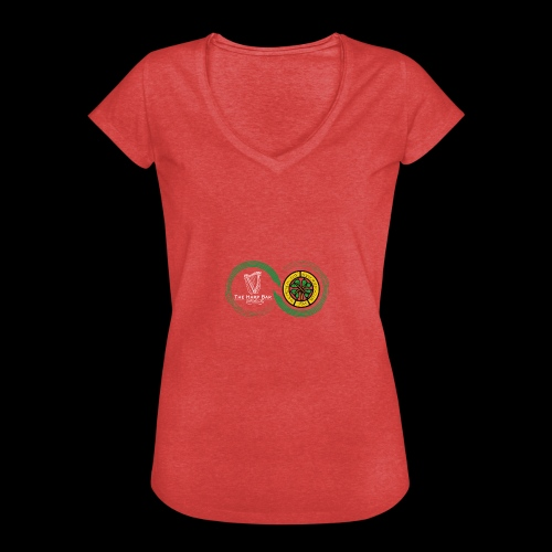 Harp and French CSC logo - T-shirt vintage Femme