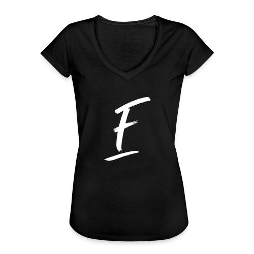 Radio Fugue F Blanc - T-shirt vintage Femme