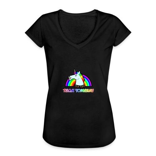 Logo officiel de la team forcing - T-shirt vintage Femme