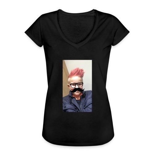 Mustach - Vintage-T-shirt dam