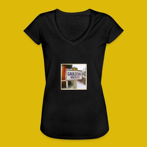 Gogoldorak - T-shirt vintage Femme