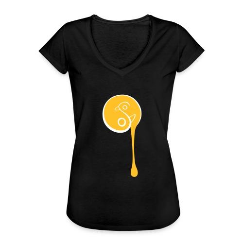 YinYang Birds - Frauen Vintage T-Shirt