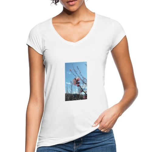 Fiore di pesco - Maglietta vintage donna