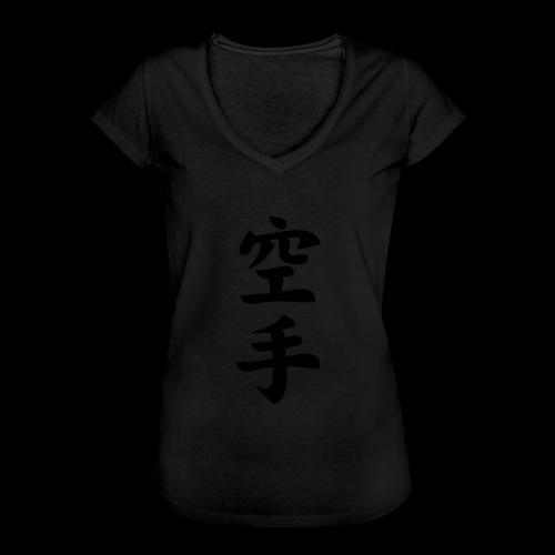 karate - Koszulka damska vintage