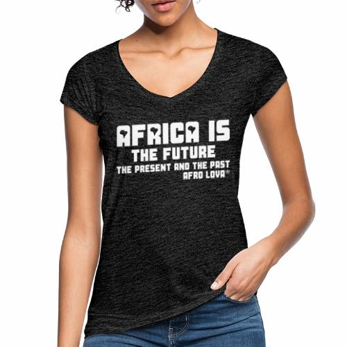 Africa is the Future - T-shirt vintage Femme