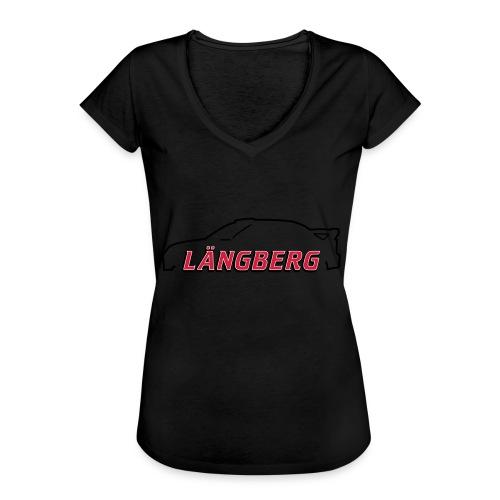 logotype Laengberg - Vintage-T-shirt dam