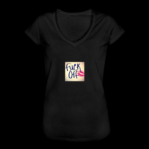 F... Off - Frauen Vintage T-Shirt