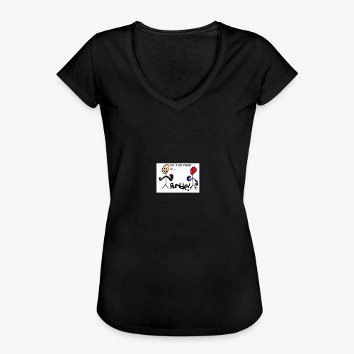 Let`s get ready to rumble! logo - Vintage-T-skjorte for kvinner