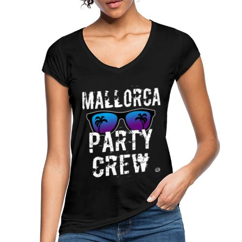 MALLORCA PARTY CREW Shirt - Damen Herren Frauen - Vrouwen Vintage T-shirt