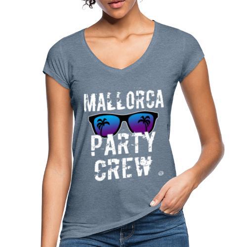MALLORCA PARTY CREW Shirt - Dames Heren Dames - Vrouwen Vintage T-shirt