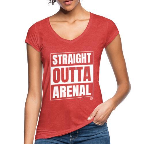 STRAIGHT OUTTA ARENAL Shirt - Malle Mallorca Shirt - Vrouwen Vintage T-shirt
