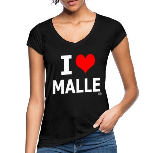 I LOVE MALLE SHIRT Damen Herren Frauen Männer - Vrouwen Vintage T-shirt