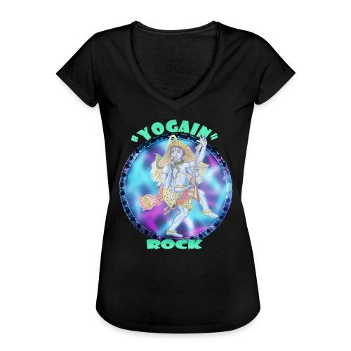 YogaIn Rock - Maglietta vintage donna