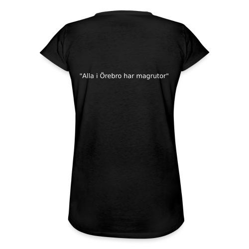 Ju jutsu förslag 2 version 1 vit text - Vintage-T-shirt dam