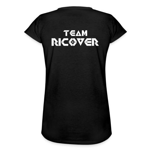Team Ricover Witte Tekst - Vrouwen Vintage T-shirt