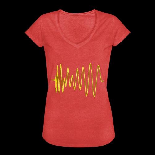 Boom 909 Drum Wave - Women's Vintage T-Shirt