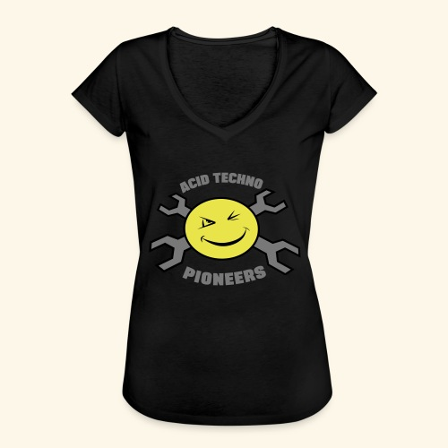 ACID TECHNO PIONEERS - SILVER EDITION - Women's Vintage T-Shirt
