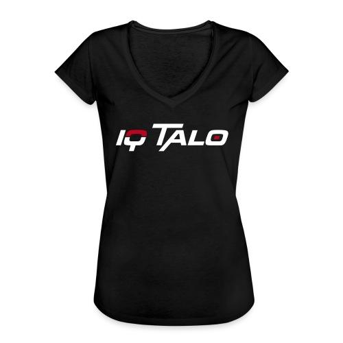 Logo_IQ_Talo_cmyk - Frauen Vintage T-Shirt