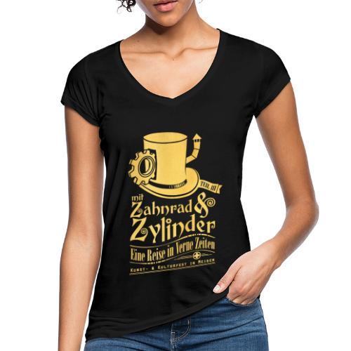 ZuZ 2019 + Brust- & Rückenmotiv - Frauen Vintage T-Shirt