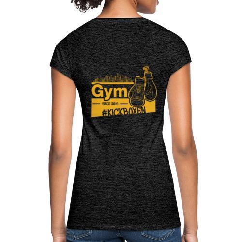 Gym Druckfarbe Orange - Frauen Vintage T-Shirt