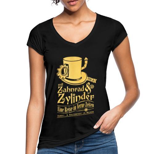 ZuZ 2018 + Brust- & Rückenmotiv - Frauen Vintage T-Shirt
