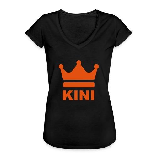 KINI ist König - Frauen Vintage T-Shirt