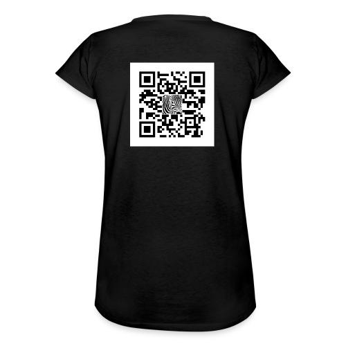 QR Code Zijt gij niet - Vrouwen Vintage T-shirt