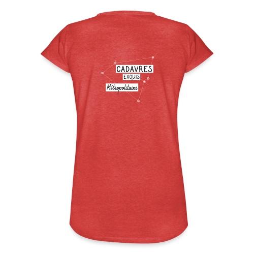 Cadavres Exquis Métropolitains - T-shirt vintage Femme