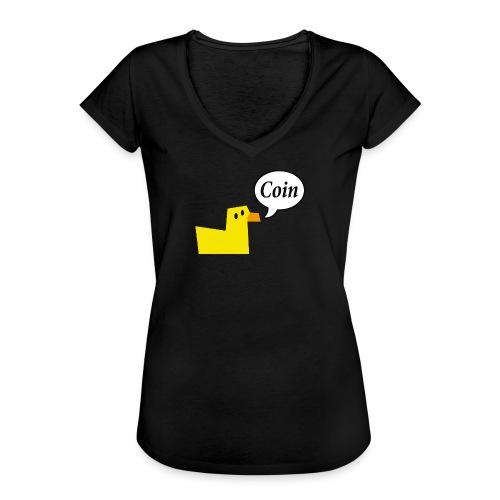 logo_coin_w3_large - T-shirt vintage Femme
