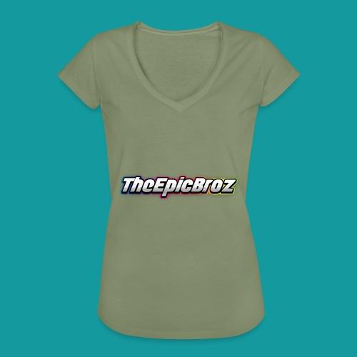 TheEpicBroz - Vrouwen Vintage T-shirt
