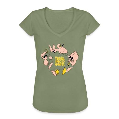 TERRA INCOGNITA 10 - T-shirt vintage Femme