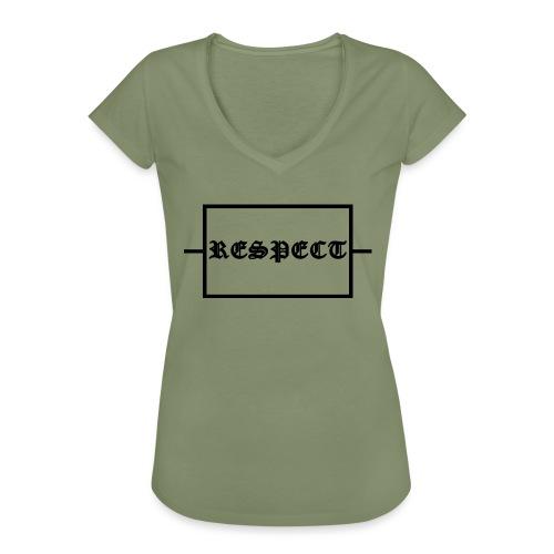 Widerstand für RESPECT - Frauen Vintage T-Shirt